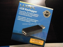 ULTRA USB Keylogger Undetectable Spy Hardware USB Keylogger for Secretly Record