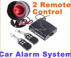 Car alarm security syste