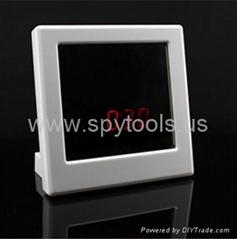 High-definition Security DVR Mirror Face Clock Style Hidden Spy Camera Digital V