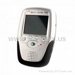 Real Time Display Recording 2.4GHz Wireless Baby Monitor DVR with 2.5'' TFT LCD