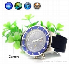 Waterproof Sports Watch Style Spy Camera Digital Video Recorder with MP3 Player