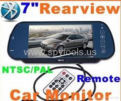 """7"""" Bluetooth Car monitor"""