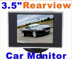 3.5 inch Car Color TFT LCD Monitor PAL/NTSC Car reversing camera Car video