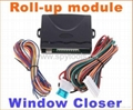 Car alarm security system Window closer