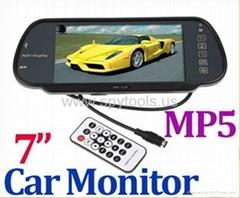 "Car Monitor 7"" Color TFT"