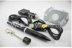 Mini Portable Pen Camera with 200W Pixel bulit-in 8GB fashion USB Function