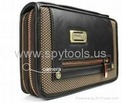 Golden Zipper Handbag DV