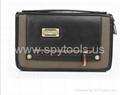Golden Zipper Handbag DVR Spy Camera Good Hidden Spy Bag Built-in 4GB Memory  2