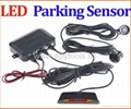 LED display Sensor Reverse Radar Kit car
