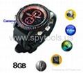 8GB HD Waterproof Spy Watch with Motion