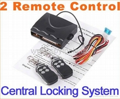 Car alarm system Locking Keyless Entry with Remote Controllers