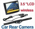 "3.5"" Wireless LCD Monitor Car Rear View"