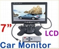 "7"" Color TFT LCD Car Rearview Monitor"