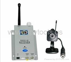 1.2GHz Wireless Hidden Pinhole Camera Kit with Receiver