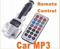 Car player FM Transmitter USB MMC/TF w/