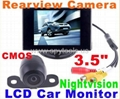 "3.5"" LCD Car Parking Rearview Video"
