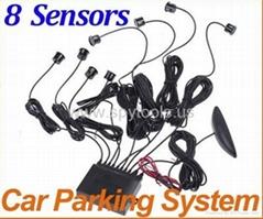 Car LED Display 8 Senso