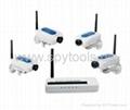 HiFast Digital Wireless Camera x4 CCTV