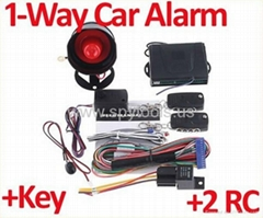 1-Way Car Alarm Security