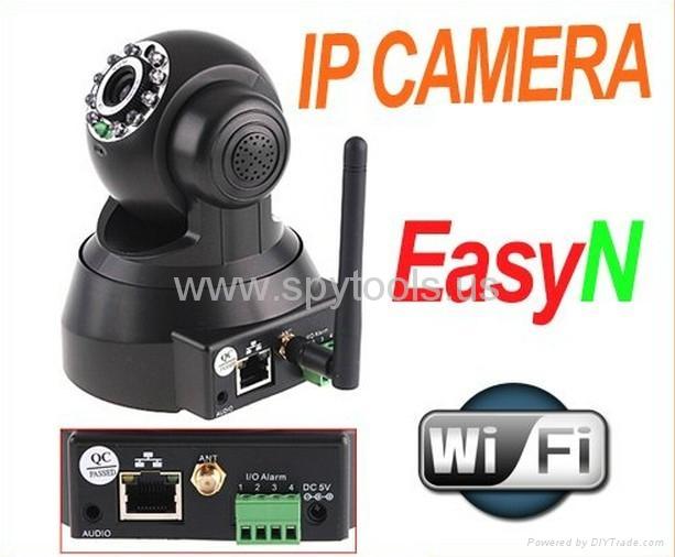 EasyN Webcam 2-Audio Nightvision WIFI Wireless IP Camera  1