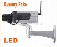 Wireless Dummy Fake Motion Detection LED Surveillance Camera