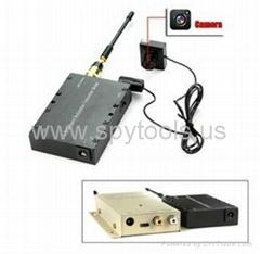 5w Wireless Audio Video Transmitter Camera & Receiver Kit