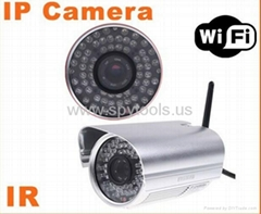 Wireless WiFi IR Cut Night Vision Waterproof Security IP Camera