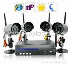 IP Camera Server with 4