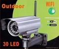 Wireless WiFi Outdoor Security IP Camera