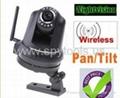 Wireless Wifi Security IP Camera Night