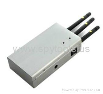 Silencer Portable Handheld Full Spectrum CDMA/GSM/3G Mobile Cellphone Signal Jam 2