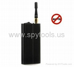 EST-808KB 5~15m Single Antenna Handheld Portable GPS Signal Jammer