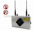 24V 30W UHF VHF Two Way Radio/Walkie-talkie Signal Jammer Blocker