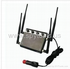 0~30m 12W Adjustable Strength Car 3G Cell Phone Signal Blocker Jammer CTS-IED1