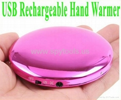 Pocket Portable USB Rechargeable Handy Hand Warmer