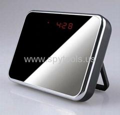 Alarm Clock Camera with 140 degree wide lens 5.0 Mega Pixels + Video Recorder