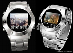 Steel Watch Phone with 1