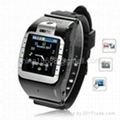 Watch Phone 1.3 inch Touch Screen Single SIM with Bluetooth  1
