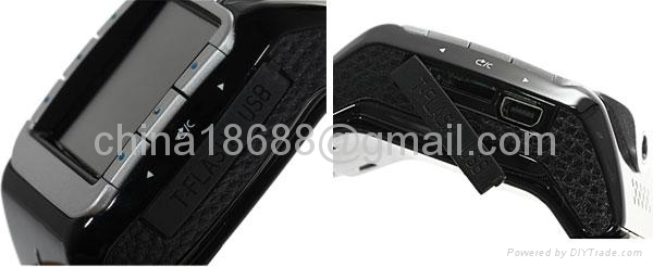 Watch Phone 1.3 inch Touch Screen Single SIM with Bluetooth  3