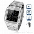 Watch Cell Phone with Quad Band Single