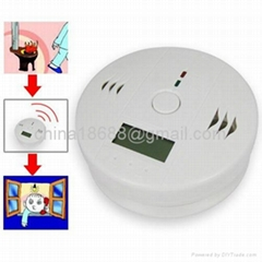 Sensitive Special Battery Operated Carbon Monoxide Alarm