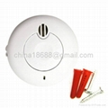 Miniature Battery Operated Photoelectric Smoke Detector with Low Battery Warning 4