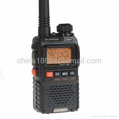 BaoFeng UV-3R Plus Dual-Band-Display Two-way 136-174 / 400-470MHz Radio