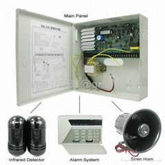 4-In-1 Full Wired Intellisense Alarm Systems with Professional Design