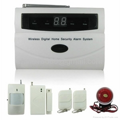 Powerful and Complete Wireless Digital Home & Office Alarm System
