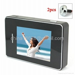 2.8 Inch Color Anti-theft Peephole Video Doorbell with Photo Recording