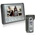 7 Inch Color LCD Video Door Phone with 1