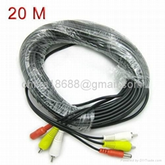 20M RCA to RCA Cable