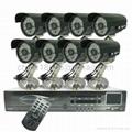 500G HDD 8-Channel High-def DVR System +
