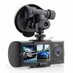car dvr with 2 lens